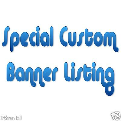 Special Custom Personalized Birthday Banner -Or Other - Customize Birthday Banner