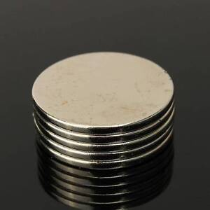 5pcs N50 Strong Round Magnets 25mm x 2mm Disc Rare Earth Neodymium