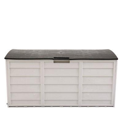 Storage Shed Patio Outdoor Garden Garage Tool Box Backyard Deck Cabinet