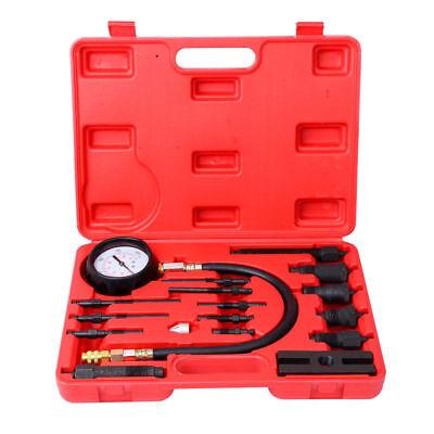 Professional Diesel Engine Cylinder Compression Tester Tool Kit 1000 PSI US SHIP