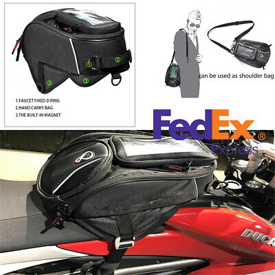 High Quality 6L Waterproof Touch Motorcycle Multifunctional Fuel Tank Bag -USA
