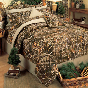 Realtree Max 4 Camo Comforter Set Bed In A Bag Camouflage
