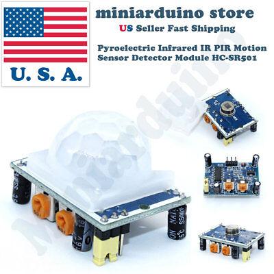 Pyroelectric Infrared Ir Pir Motion Sensor Detector Module Hc-sr501 Arduino