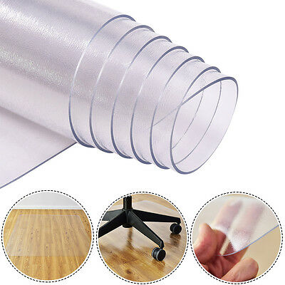 150x120cm Floor Protector Chair Mat Rectangle Office Anti Slip Chairmat Floormat