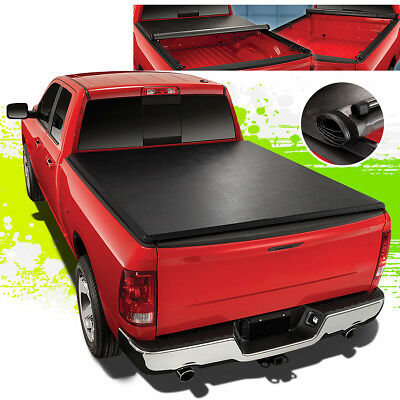 FOR 89-04 TOYOTA PICKUP/TACOMA 6' SHORT BED ROLL-UP SOFT VINYL TONNEAU COVER - 04 Tacoma Short Bed