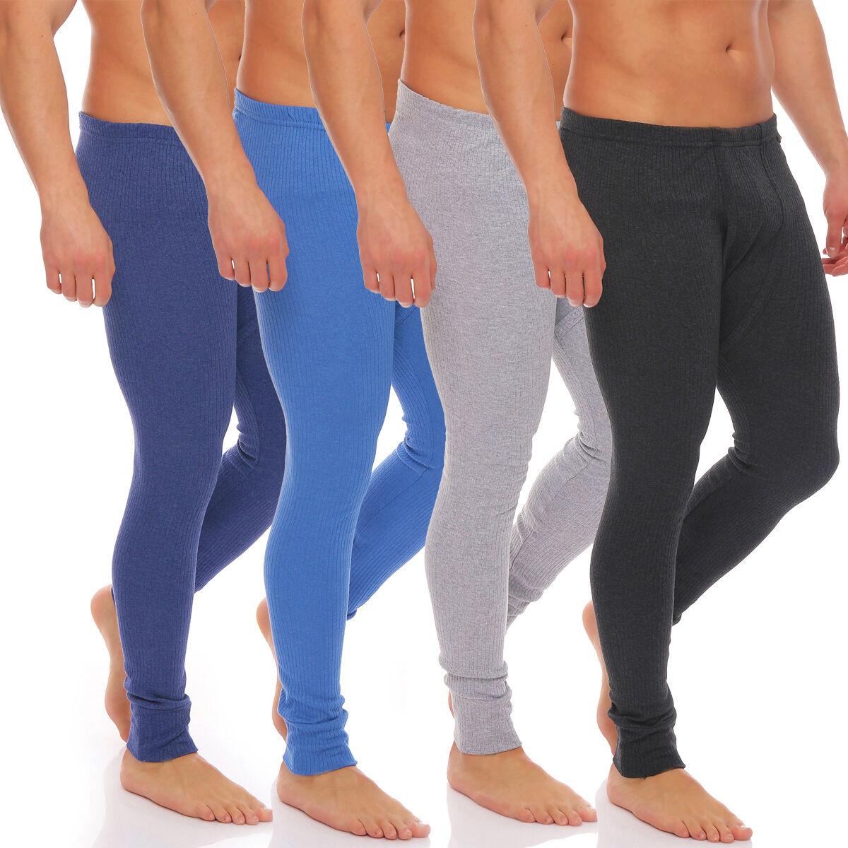 Herren Outdoor-Unterwäsche Lange Thermo-Unterhose angeraut Warme Arbeitswäsche