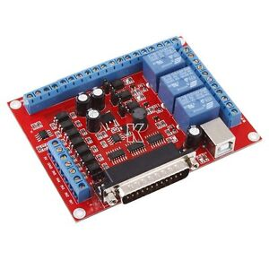 CNC-6-Axis-Engraving-Machine-Interface-Breakout-Board-USB-PWM-Spindle-MACH3