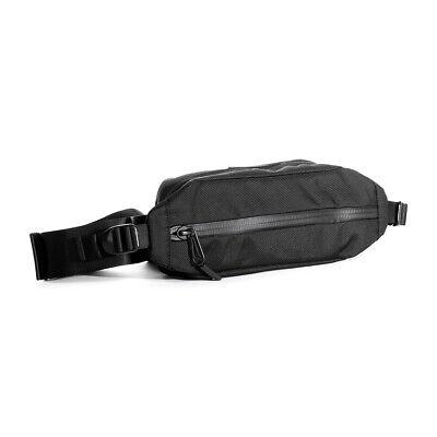AER City Sling Shoulder Bag Crossbody Handbag Sports Nylon Black