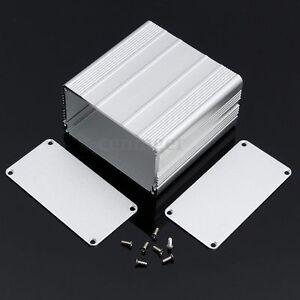 Aluminum Electronic PCB Instrument Box Enclosure Case Project DIY-100*100*50mm