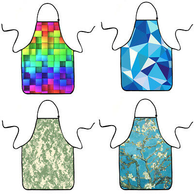 Waterproof Kitchen Apron Adjustable Restaurant Cooking Bib Chef Apron Dress Gift