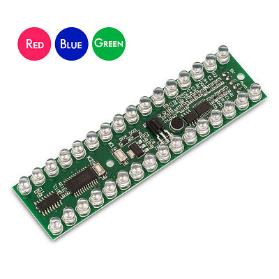 Mini Vu Meter Mic Sound Level Indicator Led Display Stereo Music Spectrum Diy
