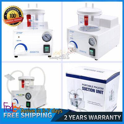Fda Ce Dental Electric Portable Medical Emergency Vacuum Phlegm Suction Unit