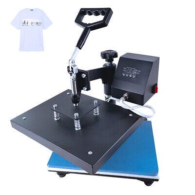 9inx12in Swing Away Digital Heat Press Machine Sublimation T-shirt Printing Us