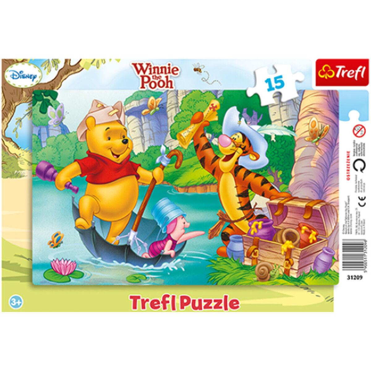 Puzzle WINNIE & ses amis