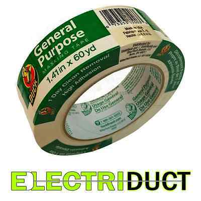 General Purpose Masking Tape - 1.41 X 60 Yd - Duck Tape