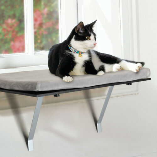"Cat Window Perch Seat Bed Hammock Comfortable Cushion and Stable Support 24.4""L"