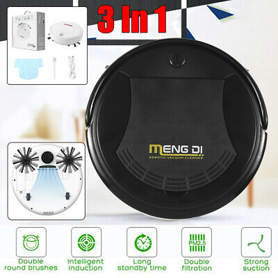 3 Sweeper (3 In 1 Smart USB Robot Vacuum Cleaner Auto Floor Sweeping Mop Robotic Sweeper)
