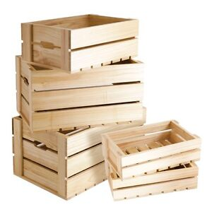 Wood boxes needed