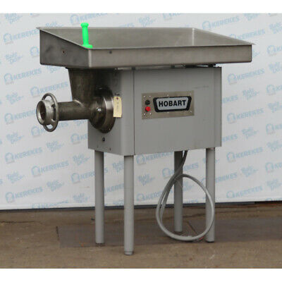 Hobart 4146 Meat Grinder 5 Hp Used Very Good Condition
