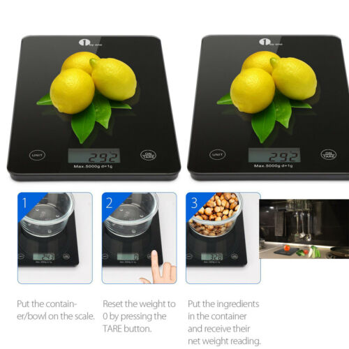 home 5kg food slim weighing scales digital