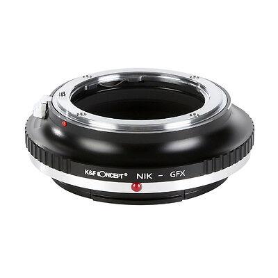 K&F Concept adapter for Nikon F AIS Mount Lens to Fuji GFX Medium Format Camera