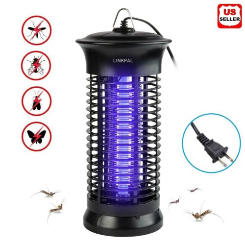 Electric Fly Bug Zapper Mosquito Insect Killer LED Light Trap Pest Control Lamp Home & Garden