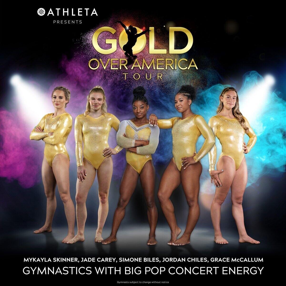 Gold Over America Tickets. Meet Simone Biles. Gymnastics. Event. 2 Tickets. VIP  - $380.00