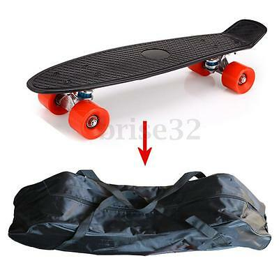 "25"" Kids Scooter Penny Banana Board Skateboard Carry Bag Straps Backpack Handbag"