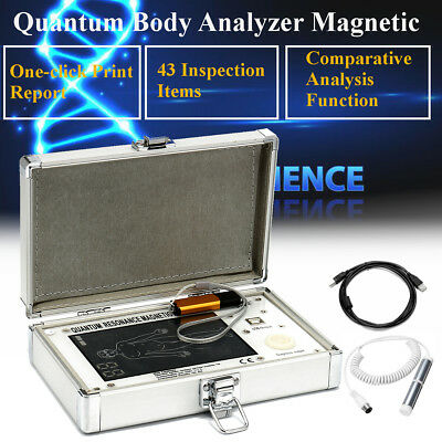 52 Reports Multilingual Quantum Magnetic Resonance Body Analyzer 4th Newest Mini