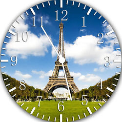 Eiffel Tower wall Clock 10 will be nice Gift and Room wall Decor W03