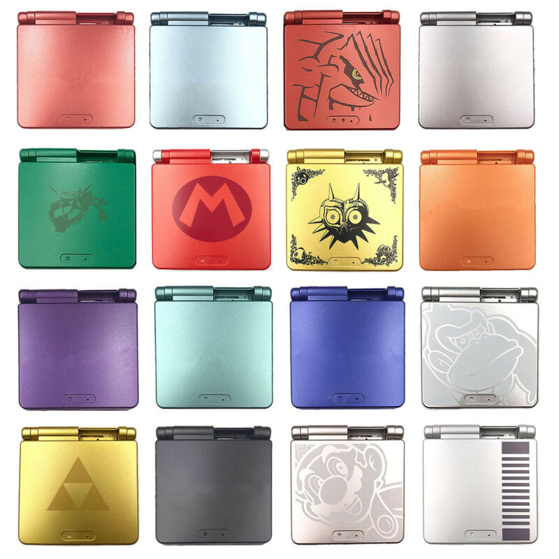Full Housing Shell Cover Button Replacement for Nintendo Game Boy Advance GBA SP