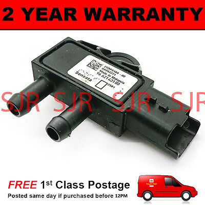 DPF EXHAUST DIFFERENTIAL PRESSURE SENSOR FOR PEUGEOT 1007 1.6 HDI 2007 ON DIESEL