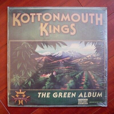 "Kottonmouth Kings ""The Green Album"" LP Vinyl Rare Insane Clown Posse KMK ICP"