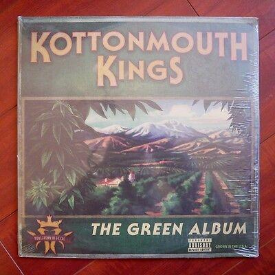 """Kottonmouth Kings """"The Green Album"""" LP Vinyl Insane Clown Posse KMK NEW SEALED"""