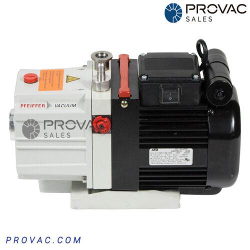 Pfeiffer DUO 2.5 Rotary Vane Pump, Rebuilt by Provac Sales, Inc.