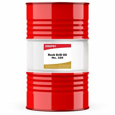 Sinopec Rock Drill Oil 320 - 55 Gallon Drum