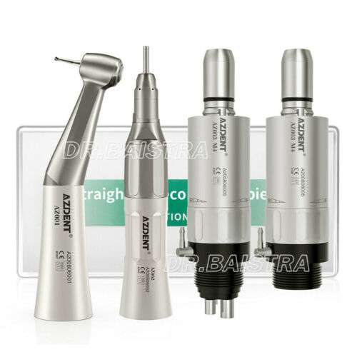 NSK Style Dental Slow Low Speed Handpiece Straight Contra Angle Air Motor 2/4H