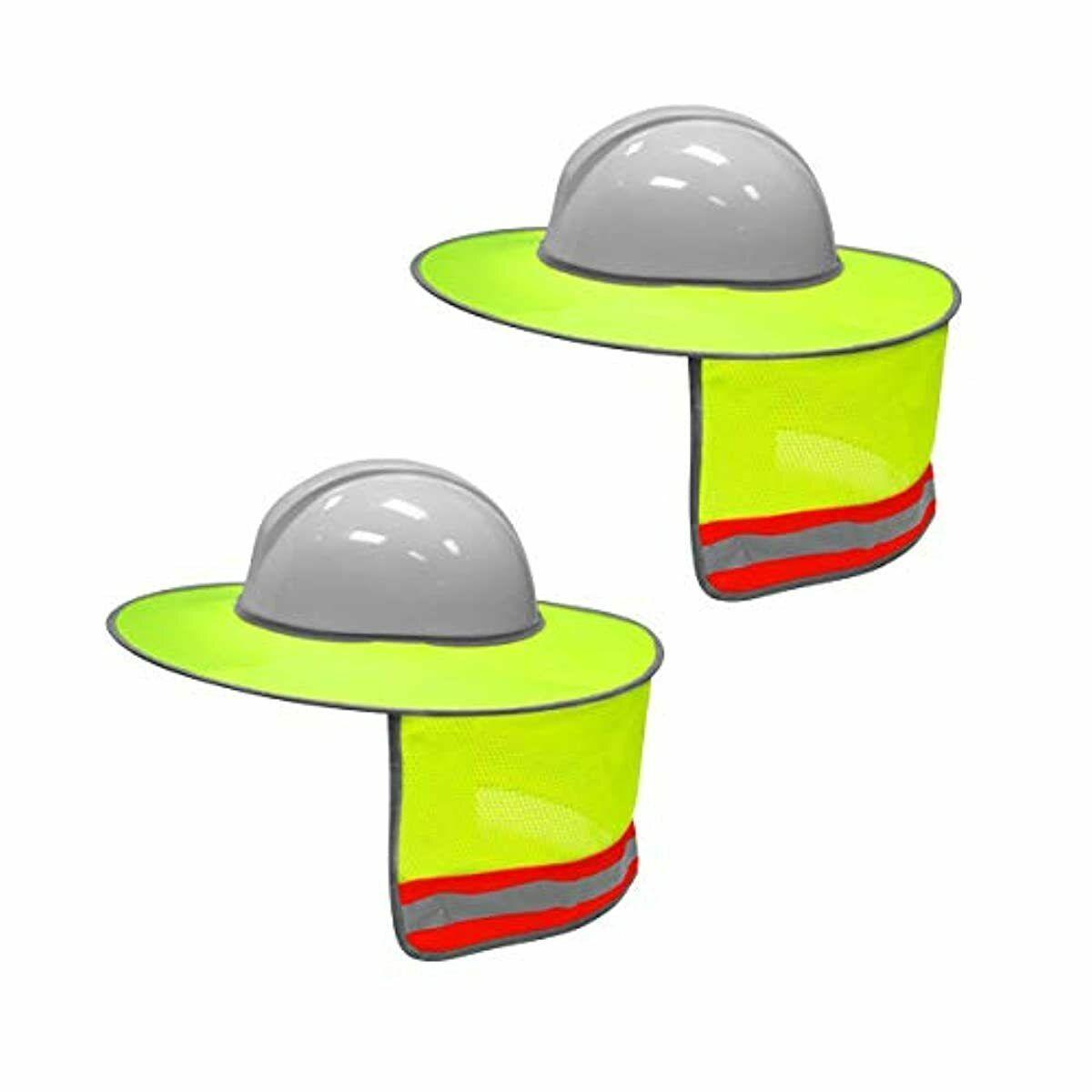 2 Proteccion De Solar Para Casco Seguridad Para El Sol Sombrero Cascos Protector