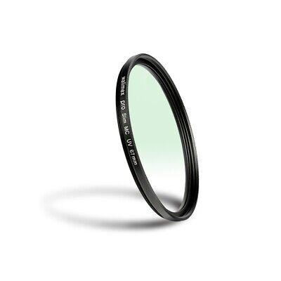 walimex pro Slim MC UV-Filter 67 mm, mehrschichtvergütet, Metallfassung