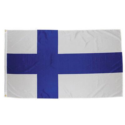 MFH Flagge Länderflagge Große Banner National Festival 90x150cm Öse Finnland (Land Flagge Banner)