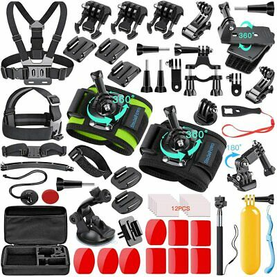 51 pcs Camera Accessories Kit for GoPro Cam Hero 7 6 5 4 Black Hero Fusion SJCAM