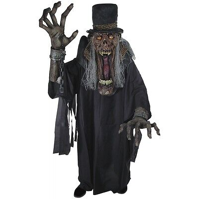 Undertaker Ghoul Creature Reacher Scary Monster Costume Adult - Undertaker Costumes