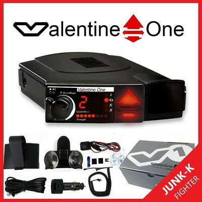 VALENTINE One Detector de Radar 1 V1 POP 2 v3.8952 com JUNK K Fighter NOVO