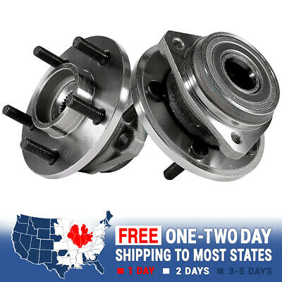 2 Front Wheel Hub Bearing Assembly Pair For Jeep Cherokee Wrangler XJ TJ 2WD 4WD 4wd Front Wheel Bearing