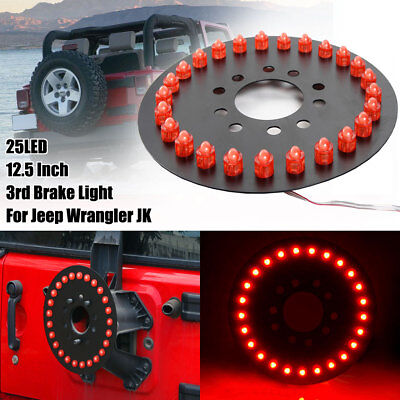 Spare Tire LED Wheel Lamp Rear 3rd Brake Decor Light For Jeep Wrangler JK TJ YJ](Lights For Decorations)