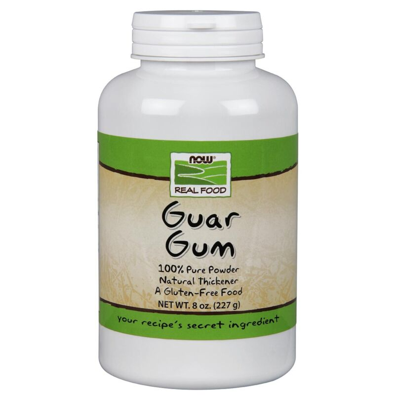 NOW Foods Guar Gum Powder 8 oz FREE SHIPPING. MADE IN USA