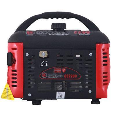 Carroll Stream Cs2200 Defense Series 2200w Watt Gas Generator 120v Portable 2000