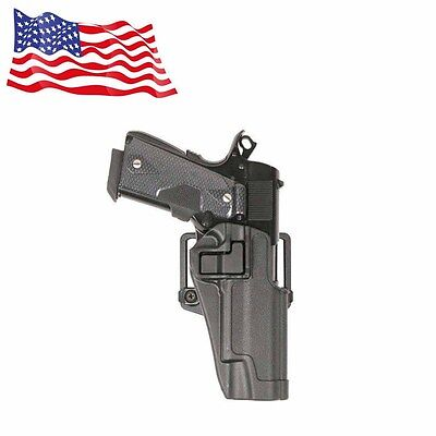 USA Quick Tactical Holster Right Hand Paddle Belt Holster for Colt 1911