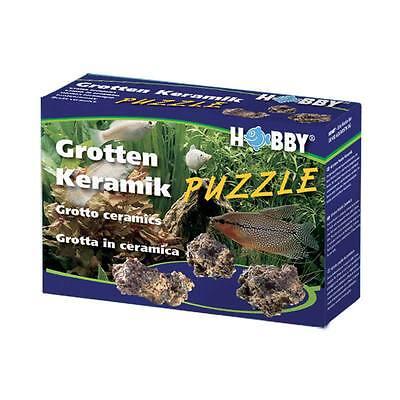 Hobby Grottenpuzzle-Keramik, 1KG - Decoración de Acuario Instalación Accesorio