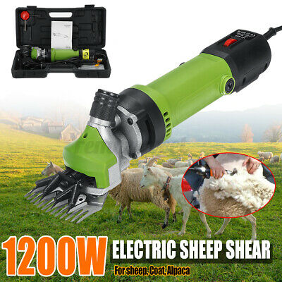 1200w Sheep Goat Shears Electric Farm Supplies Animal Shearing Grooming Clipper